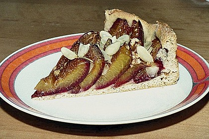 Amaretto - Zwetschgenkuchen mit Mandeln 4