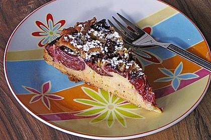 Amaretto - Zwetschgenkuchen mit Mandeln 1
