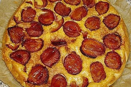 Amaretto - Zwetschgenkuchen mit Mandeln 2