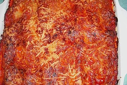 Cannelloni mit Hackfleisch - Tomatensoße 1