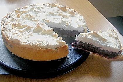 Laras Heidelbeer - Kokos - Kuchen mit Baiser 13