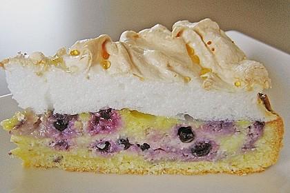 Laras Heidelbeer - Kokos - Kuchen mit Baiser 2
