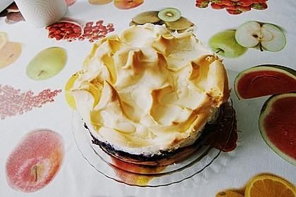 Laras Heidelbeer - Kokos - Kuchen mit Baiser 11