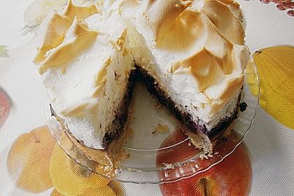 Laras Heidelbeer - Kokos - Kuchen mit Baiser 3