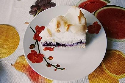 Laras Heidelbeer - Kokos - Kuchen mit Baiser 7