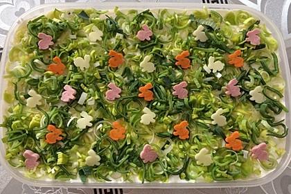 Fruchtig - pikanter Schichtsalat 8