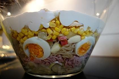 Fruchtig - pikanter Schichtsalat 30