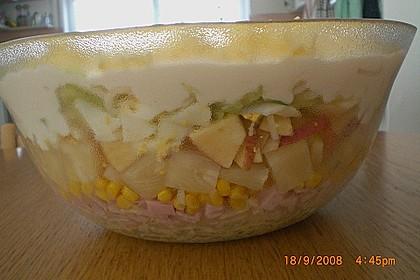 Fruchtig - pikanter Schichtsalat 26