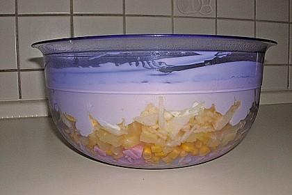 Fruchtig - pikanter Schichtsalat 34
