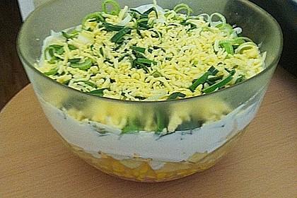 Fruchtig - pikanter Schichtsalat 20
