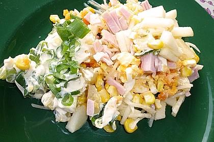 Fruchtig - pikanter Schichtsalat 1