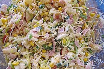 Fruchtig - pikanter Schichtsalat 27