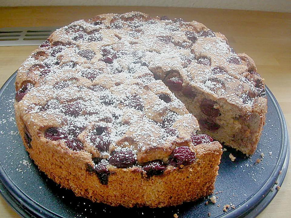 Mandel Kirsch Kuchen Von Lari Chefkoch De