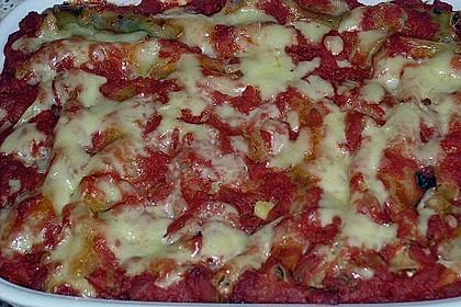 Cannelloni mit Spinat - Schafskäse - Füllung 2