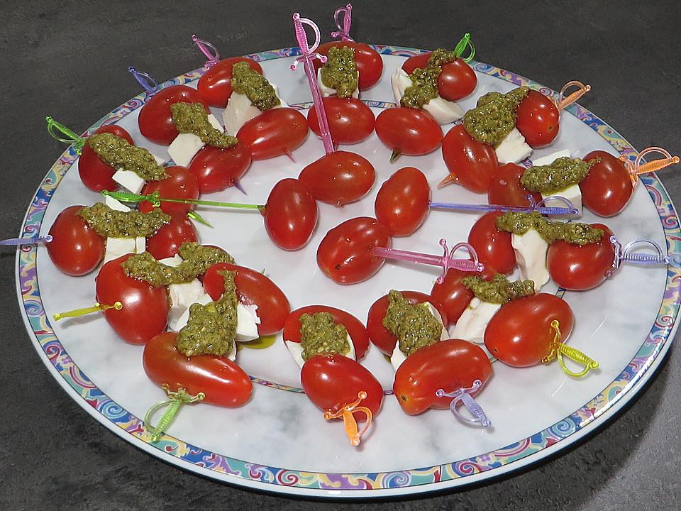 Mozzarella Tomaten Spiesse Von Ulkig Chefkoch De