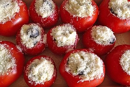 Tomaten gefüllt mit Risotto - Schafskäse 5