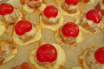 Mozzarella - Frikadellen 2