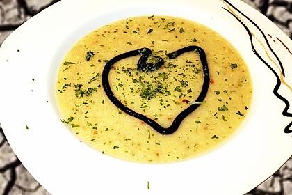 Pastinaken - Apfel - Suppe 2