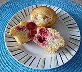 Himbeer - Vanille - Muffin (Bild)