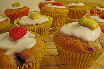 Himbeer - Vanille - Muffin 4