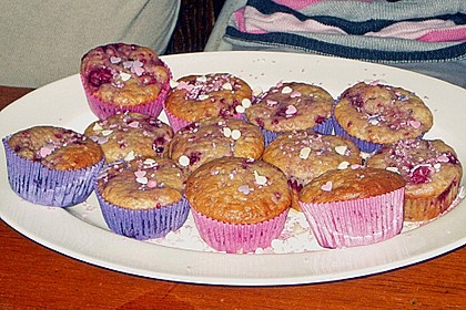 Himbeer - Vanille - Muffin 15