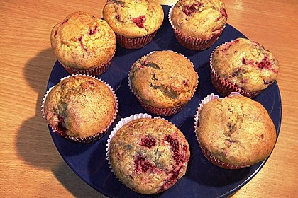 Himbeer - Vanille - Muffin 11