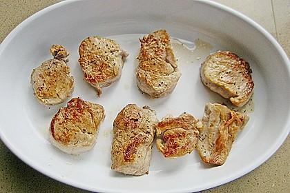 Schweinefiletmedaillons mit Parmesan - Tomaten - Kruste 28