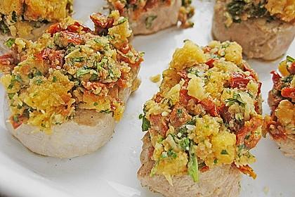 Schweinefiletmedaillons mit Parmesan - Tomaten - Kruste 2