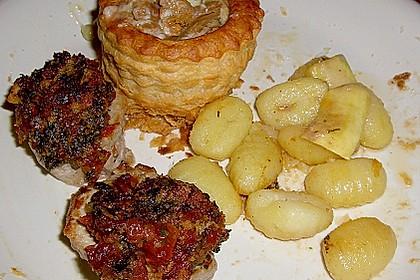 Schweinefiletmedaillons mit Parmesan - Tomaten - Kruste 19
