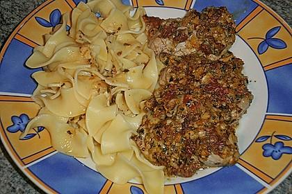 Schweinefiletmedaillons mit Parmesan - Tomaten - Kruste 17