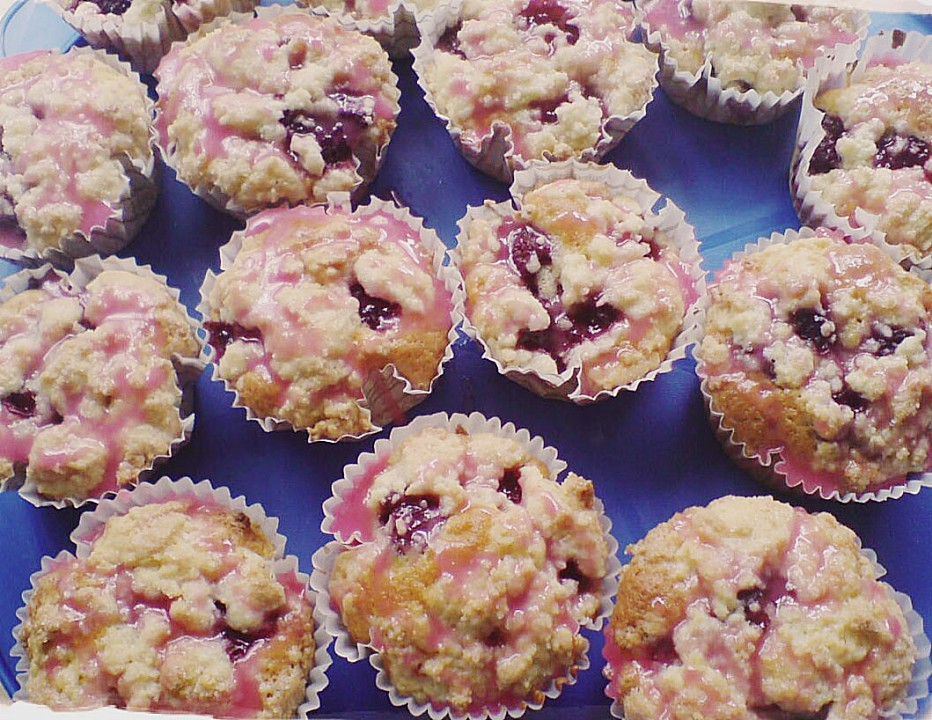 Himbeer Streusel Muffins Ein Sehr Leckeres Rezept Chefkoch De