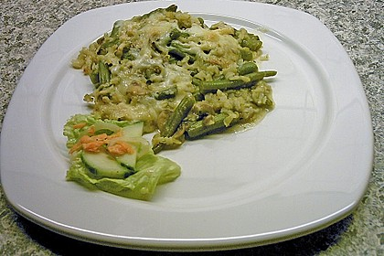 Bohnen - Reis - Gratin 1