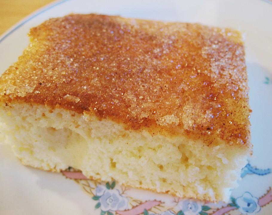 Buttermilch Zimt Kuchen Vom Blech Von Polgara81 Chefkoch De