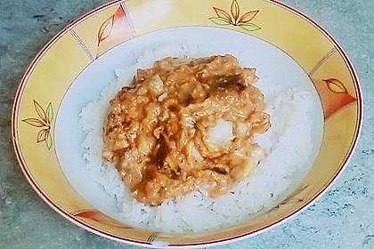 Fischstäbchen - Pfanne in pikanter Soße 2