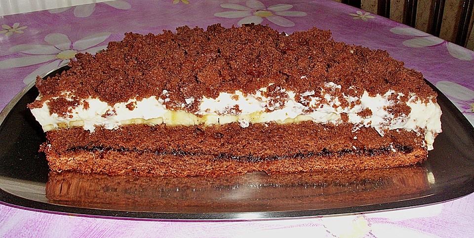Bananen Schoko Kuchen