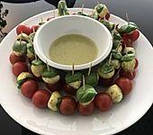 Tomaten - Mozzarella - Spieße (Bild)