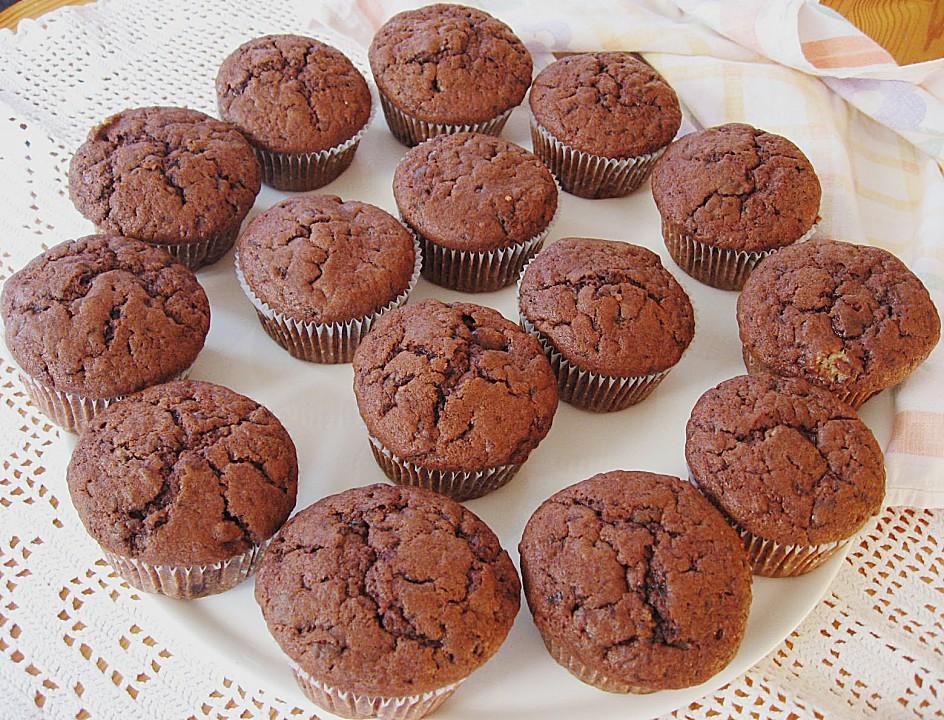 Kakao muffins rezept