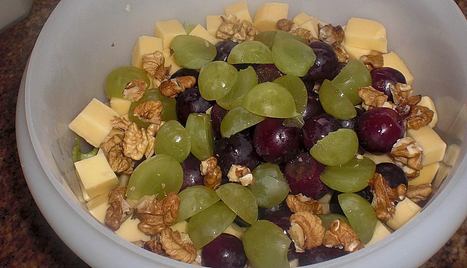 Käse Trauben Salat Von Ulkig Chefkoch