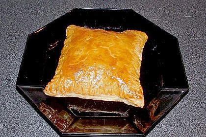 Schinken - Käse Blätterteigtaschen 7