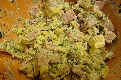 Schinken - Käse Blätterteigtaschen 15