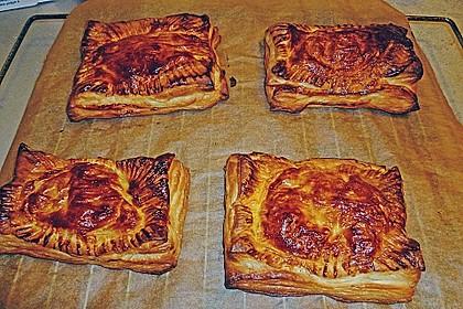Schinken - Käse Blätterteigtaschen 6