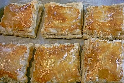 Schinken - Käse Blätterteigtaschen 13