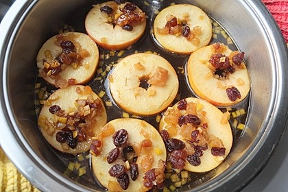 Backäpfel mit Rosenwasser