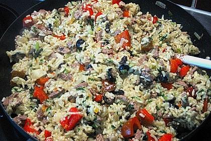 Mexikanisches Reisfleisch 3