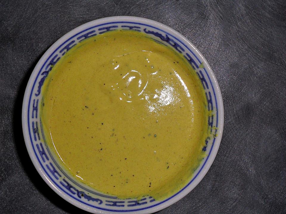 Joghurt dressing mit senf