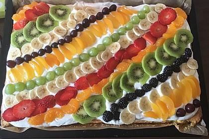 Frischkäse - Obstkuchen 10