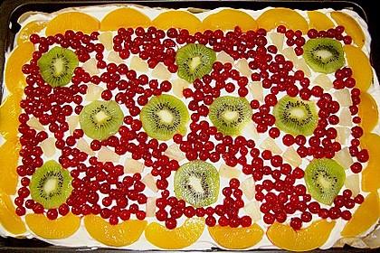 Frischkäse - Obstkuchen 3