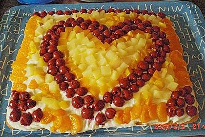 Frischkäse - Obstkuchen 12