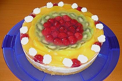 Frischkäse - Obstkuchen 4