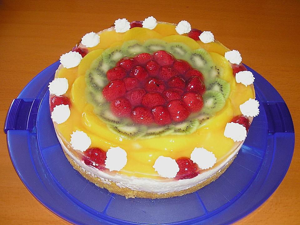 Frischkase Obstkuchen Von Baby05 Chefkoch De